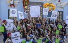 El Carnaval le dice no a la violencia contra la mujer
