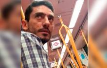 Indignación en Madrid por hombre que acosó a dos jóvenes y nadie hizo nada