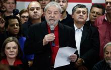 Luiz Inácio Lula da Silva, expresidente de Brasil, tiene prohibido salir de su país.