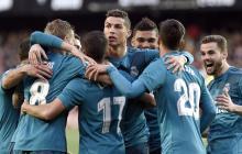 El Real Madrid recupera la sonrisa goleando al Valencia en Mestalla