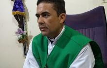 Richard Enrique Sánchez Anillo, párroco de la iglesia Medalla Milagrosa.