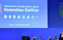 Gabriele Gravina, uno de los tres candidatos a la presidencia de la Federación durante las últimas elecciones.