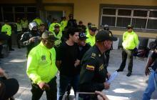 Cristian Bellón, capturado por el atentado a Estación de San José.