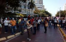 Por falta de vigilancia suspenden las clases en colegios distritales de Cartagena