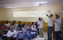 Obras en instituciones educativas de Cartagena han avanzado en un 95%