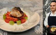 Recetas EH | Pesca del día con arroz achiotado de camarones secos guajiros y ensalada
