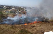 Autoridades de AMB atienden 40 incendios forestales en lo que va de año