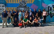 Empresarios y representantes de agencias de viajes de varios países durante la visita de este fin de semana a Barranquilla.