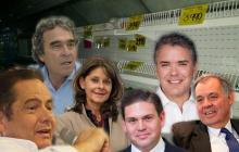 Así reaccionaron candidatos presidenciales a hallazgos de la Fiscalía sobre bienes de las Farc