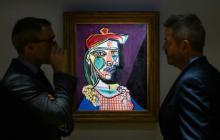 Subastan un valioso Picasso en el que se asoma la silueta de su futura amante