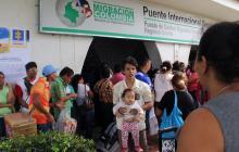 Baja ingreso de venezolanos por fronteras: de 48.000 pasó a 35.000 diarios, reporta Migración