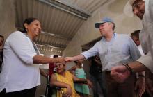 """Cuando dijimos que íbamos a construir un millón de viviendas, todo el mundo se burló"": Santos"