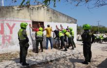 Policía reporta 57 capturas durante el fin de semana