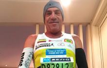El maratonista barranquillero Antonio Jassir Atique.
