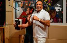 El intérprete vallenato Beto Zabaleta.