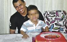 Felipe Rincón tenía dos hijos de 14 y 5 años.