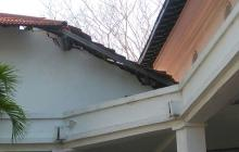 Colapsa techo de otro salón en la sede de Bellas Artes