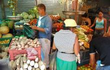 Plaza de mercado de Barranquilla.