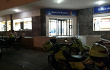 Fachada del Banco de Bogotá.