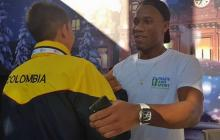 Didier Drogba 'viene por segunda vez' a Cartagena