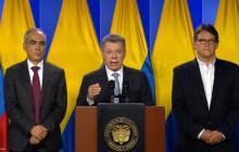 Presidente Santos ordena reanudar diálogos con el Eln