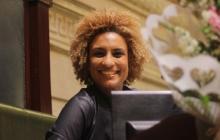 La concejal brasileña Marielle Franco publicó esta foto en su cuenta de Twitter el Día de la Mujer.