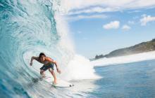 Un surfista novato recibe puntuación perfecta por espectacular maniobra