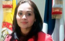 Yasmín Eliana Serrada Bautista, excónsul de Colombia ante República Dominicana.