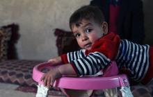 Donald Trump, el bebé afgano.