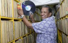 Con 33 discos de vinilo se dio vida a La Troja