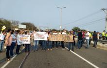 Padres de familia rechazan cierre de retornos en Vía al Mar