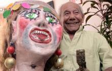 Jorge Altamiranda, creador de Las Gigantonas.