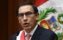 Martín Vizcarra, nuevo presidente peruano.