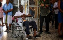 Pedro Herrera asistió a la Catedral María Reina para pedirle a Dios volver a caminar después de 8 meses de estar en una silla de ruedas a causa de un accidente laboral.