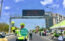 Plan retorno de Semana Santa: 430 vehículos inmovilizados, 32 por embriaguez