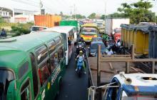 Obras en la calle 30 aliviarán en 40% el tráfico por esa vía