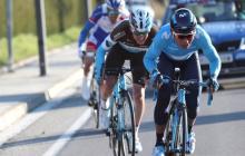 El ciclista colombiano Nairo Quintana en acción.