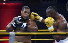 Cristian Salcedo con un boxeo superior al del cubano José Larduet, selló la clasificación colombiana.