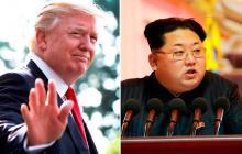Trump confirma que evalúan cinco lugares para su reunión con Kim Jong Un