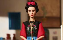 Barbie de Frida Kahlo fabricada por Mattel.