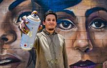 Un día con un grafitero venezolano