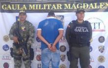 Capturan en flagrancia a dos presuntos extorsionistas en Magdalena