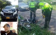 Camioneta de Yader Romero involucrada en accidente de tránsito en el Cesar: un muerto