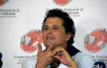 Carlos Vives en la rueda de prensa de este jueves en Valledupar
