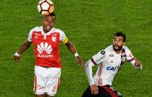 Santa Fe no puede con Flamengo en  el Campín