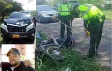 Muerto en accidente con camioneta de Yader Romero era mototaxista
