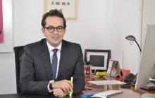 Juan Sebastián Rozo Rengifo , ministro encargado de Tecnologías de la Información y Comunicaciones.