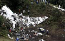 Tragedia del Chapecoense se dio por falta de combustible del avión