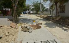 Habitantes de Puerto denuncian fallas en construcción de vía