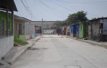 Lugar del barrio Rebolo donde ocurrió el más reciente ataque contra un niño.